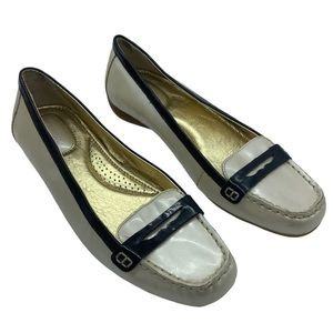 Sperry top-sider loafer patent leather Size 8